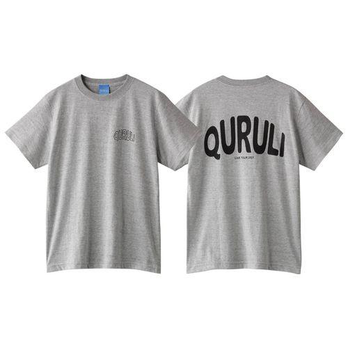QURULI LIVE TOUR 2021 Tシャツ(グレー)