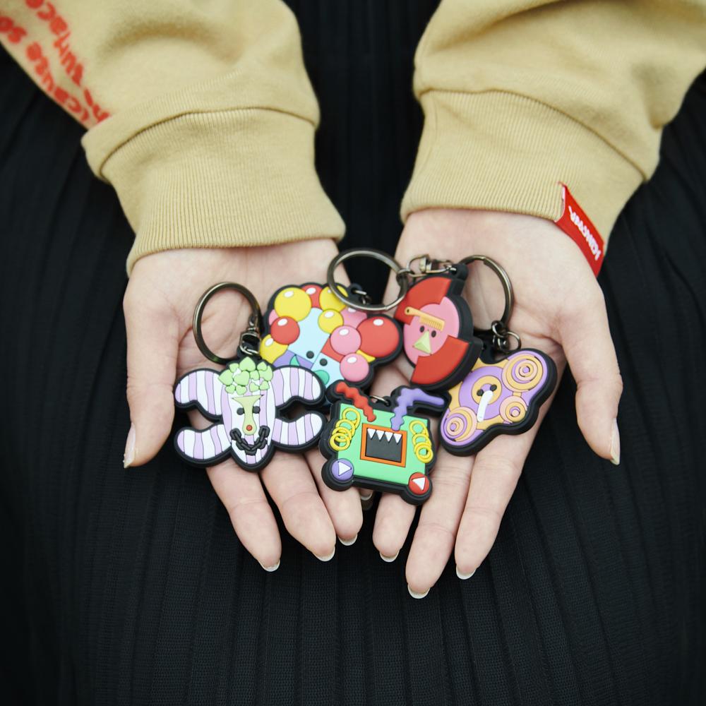 "[Random] Rubber Key Holder""Sekai no Himitsu"" Characters"