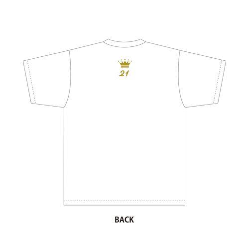 太田彩夏 生誕記念Tシャツ&メッセージ入り生写真(2021年8月度)