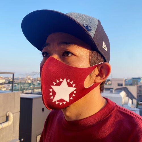 マスク<ファンキー加藤×東北楽天ゴールデンイーグルス限定カラー/クリムゾン>