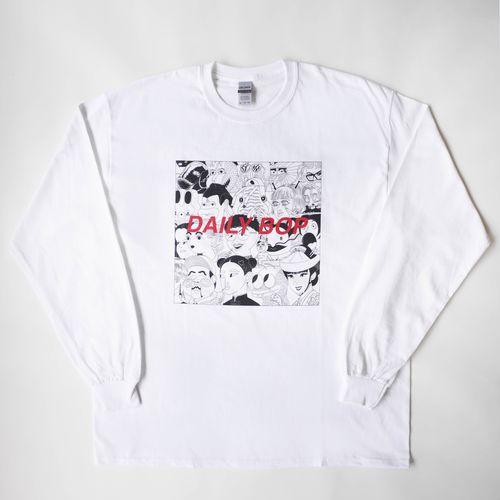 【Lucky Kilimanjaro】DAILY BOP ロンT ホワイト