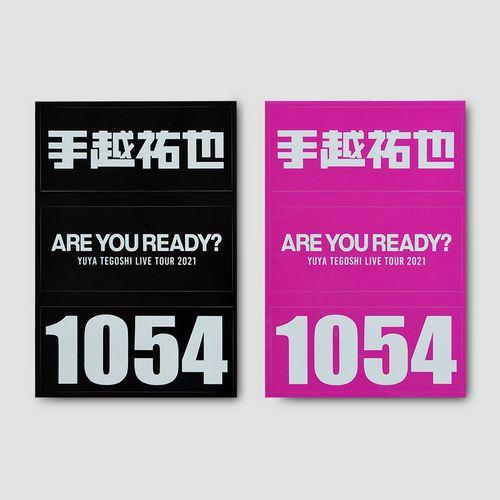 ステッカー 【ARE YOU READY?】
