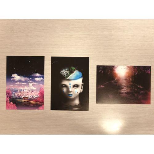 【-真天地開闢集団-ジグザグ】mikoto Graphic Postcard(3枚セット)