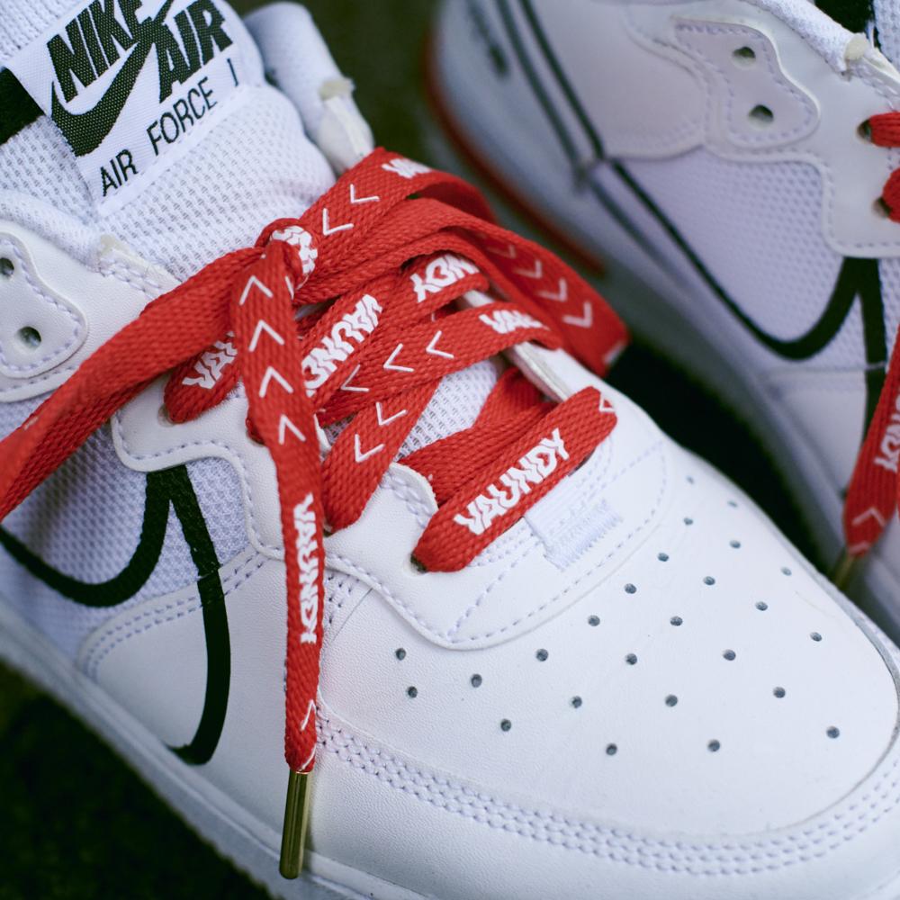"""Logo Shoelaces""""HINODE"""""""