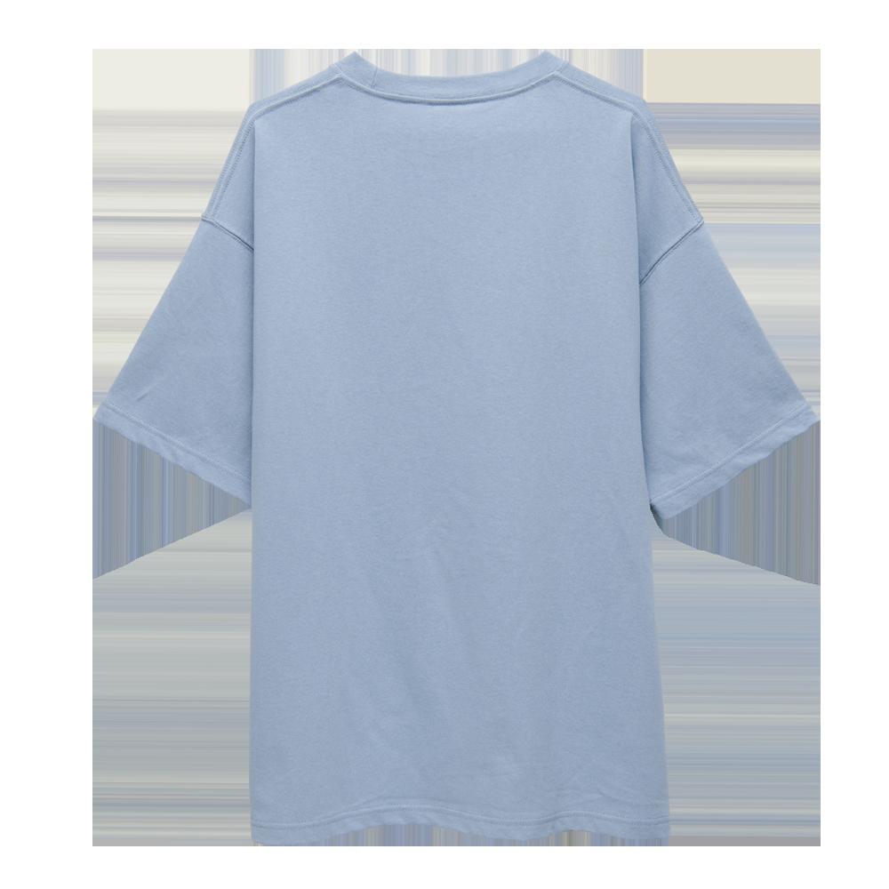 """Logo T-shirts""""HINODE""""[Acid Blue]"""