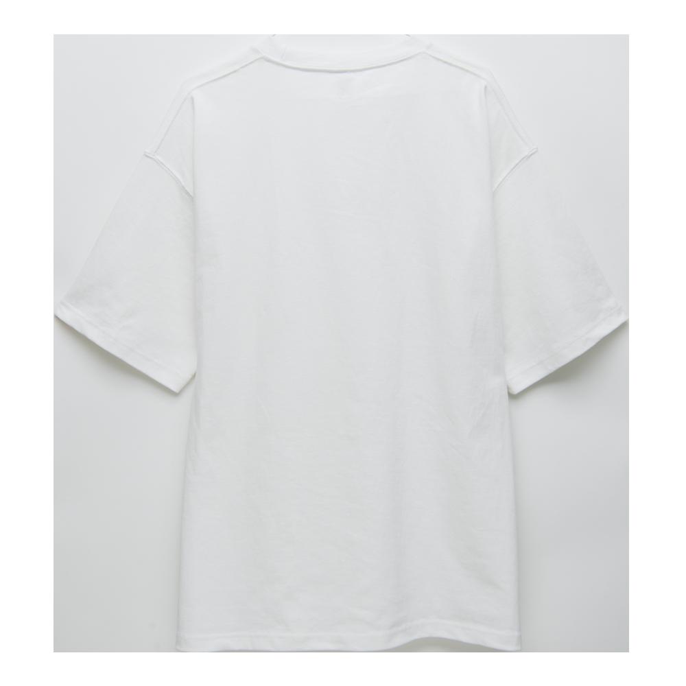 """Logo T-shirts""""HINODE""""[White]"""