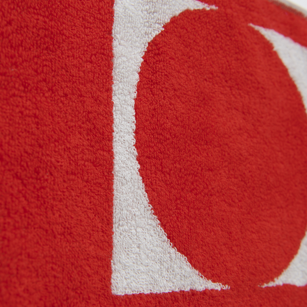 """Logo Jacquard Towel """"HINODE"""""""