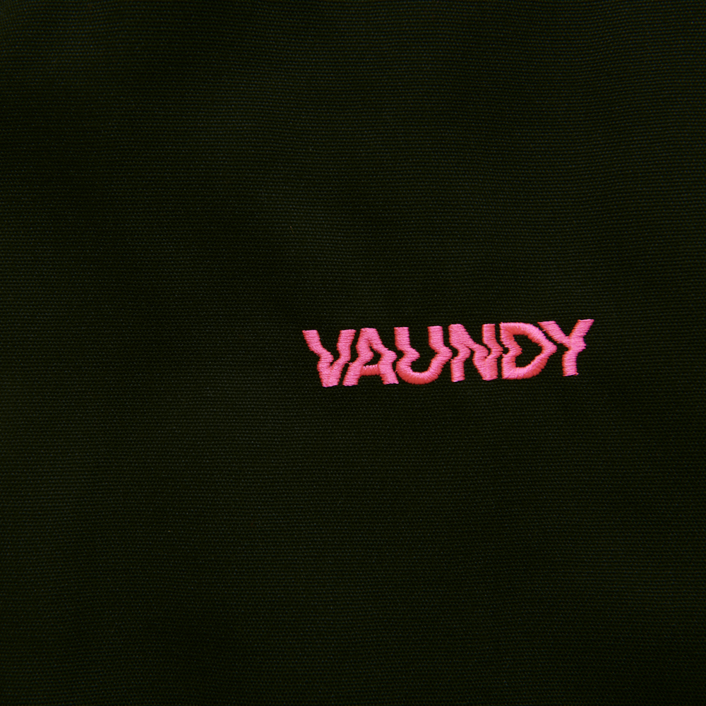 Logo Tote bag [Black x Pink]