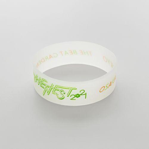 THE NEST 2021 silicone band  -Osaka neon green-
