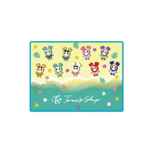 "TWICE POPUP STORE ""Twaii's Shop"" マウスパッド"