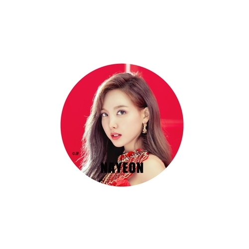 TWICE WORLD TOUR 2019 'TWICELIGHTS' IN JAPAN 缶バッチ/RED【NAYEON】