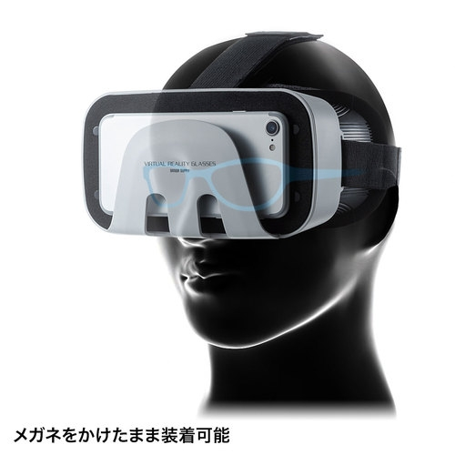 【VR MODE】サンワサプライ MED-VRG1