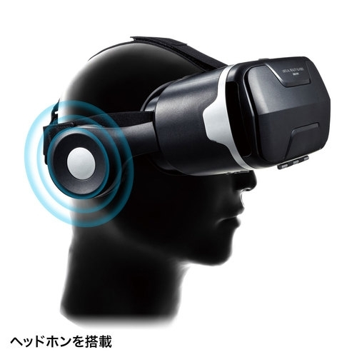 【VR MODE】サンワサプライ MED-VRG3