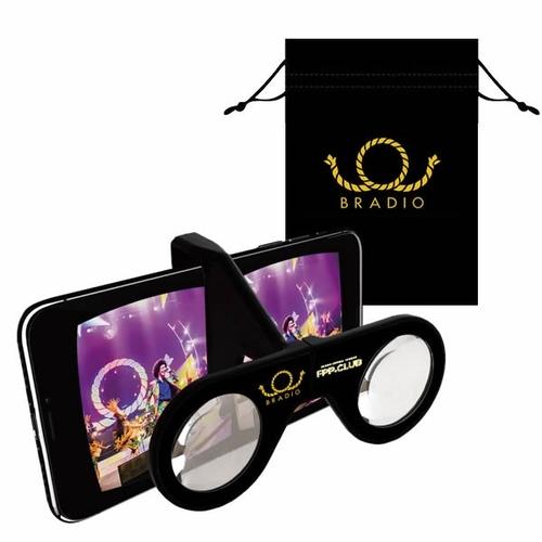 【VR MODE】BRADIOオリジナルスマホ専用VRグラス + オンデマンドVR視聴券