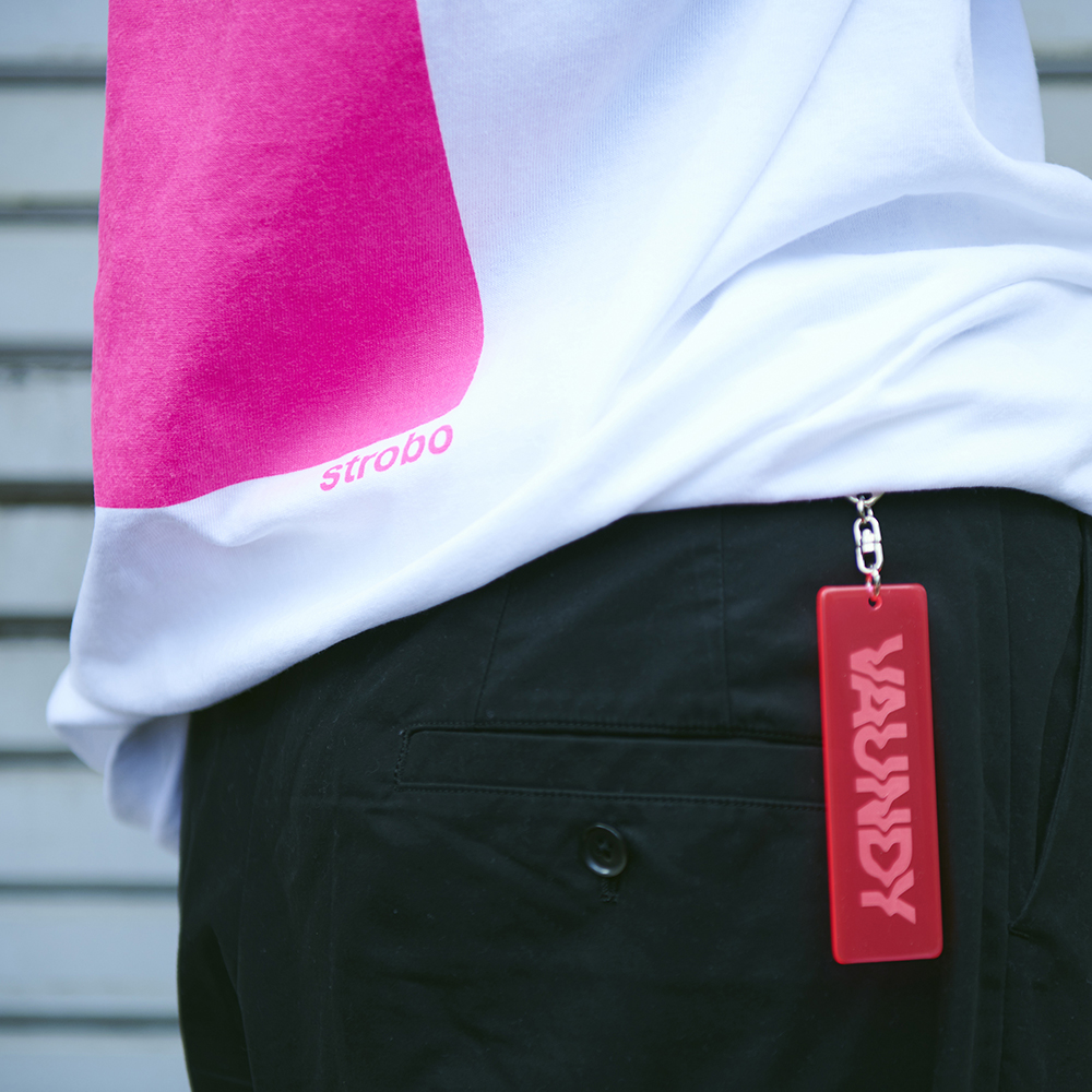 Key Holder [Fluorescent Pink]