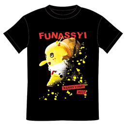 ZEPP ふなっしー NASSYI FES Tシャツ(ブラック)