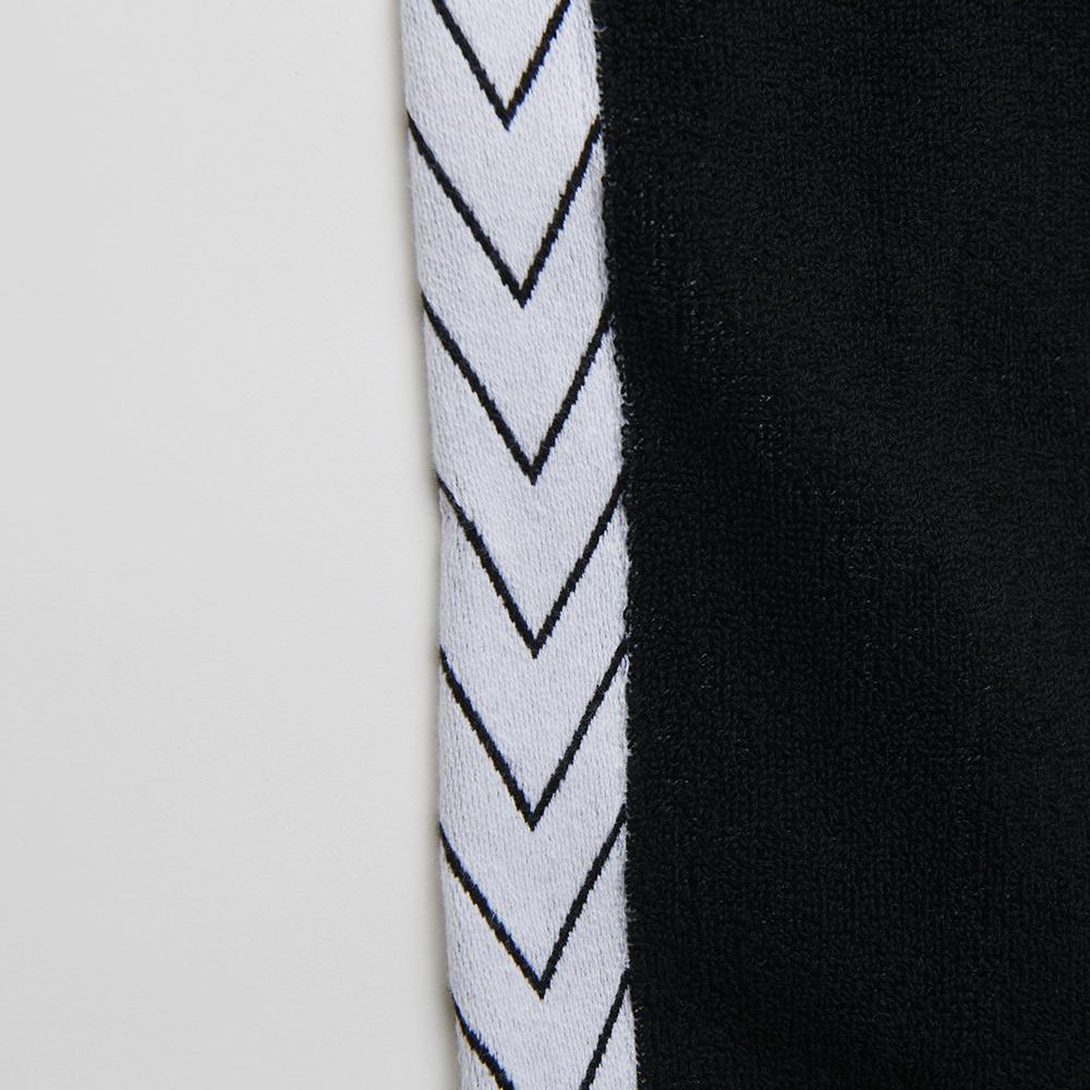 Logo Jacquard Towel [Black×White]