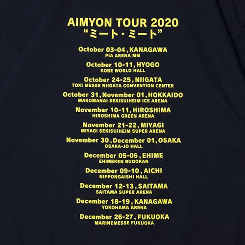 ミート・ミート Tシャツ/ネイビー【AIMYON TOUR 2020 ミート・ミート】