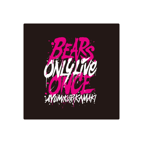 BEARS ONLY LIVE ONCE リストバンド
