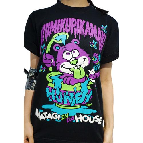 MATAGI IN DA HOUSE Tシャツ/PURPLE