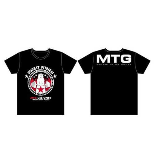 FITNESSファイヤーTシャツ/BLACK