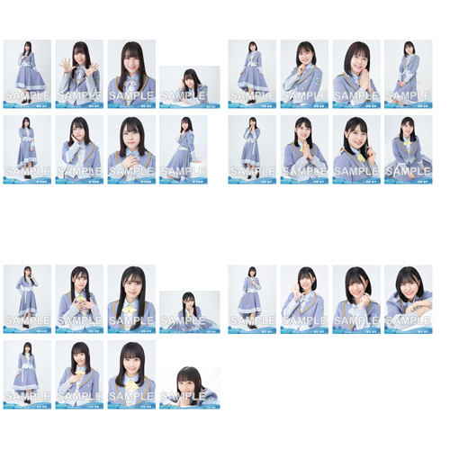 【ネコポス便】STU48 2021年7月度netshop限定ランダム生写真5枚セット