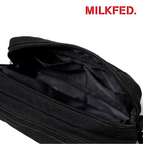 MILKFED. x BLUE ENCOUNT W ZIP POUCH