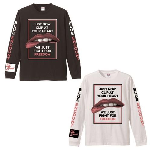 2018年冬フェス LIPS DESIGN ロングTシャツ