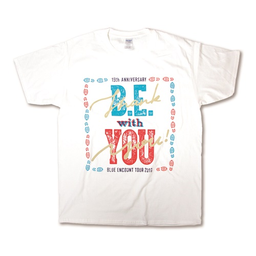 TOUR2019 B.E. with YOUツアーTシャツ