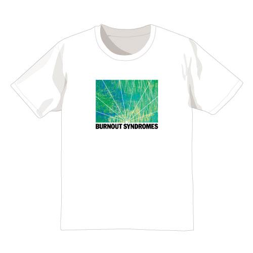 【BURNOUT SYNDROMES】孔雀 Tシャツ(白)