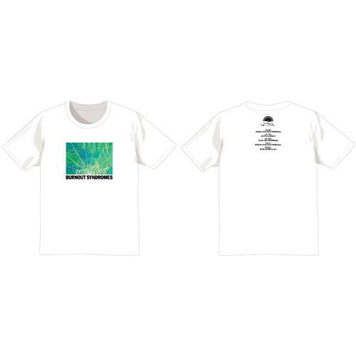 【BURNOUT SYNDROMES】孔雀 Tシャツ(白)