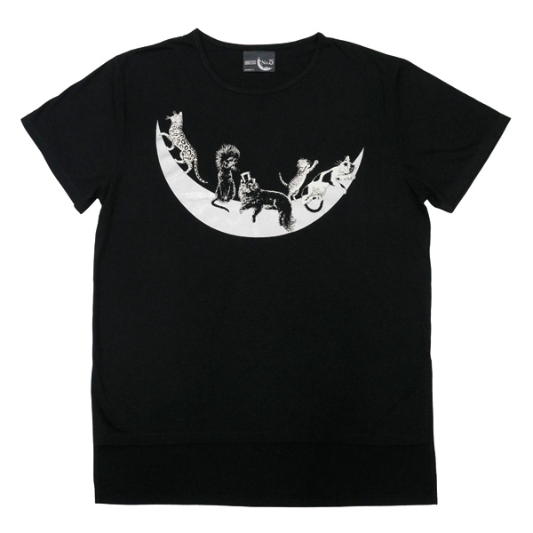 MOON CATS Tシャツ~BIG T~【TOUR No.0】