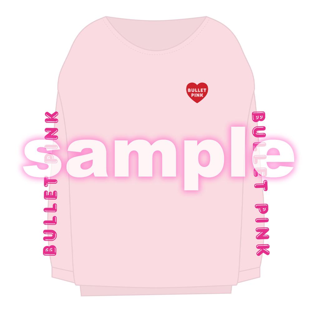 BULLET PINK Long T-shirt