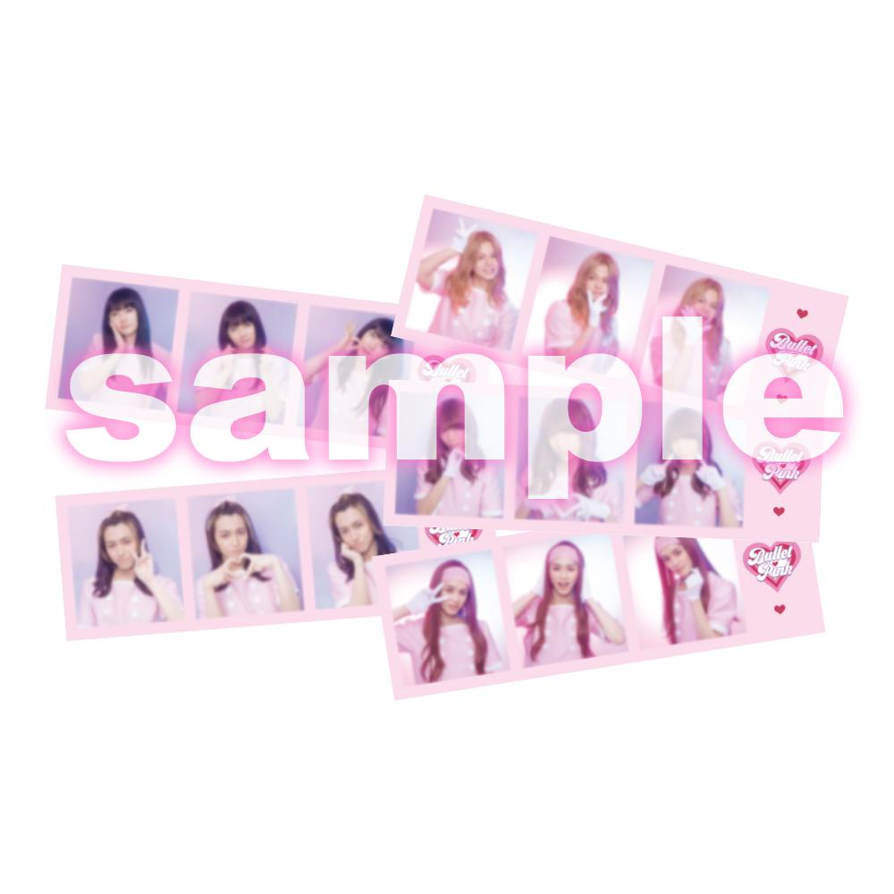 BULLET PINK Sticker