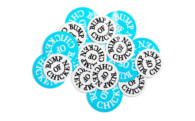 Logo Sticker LIGHT BLUE&WHITE