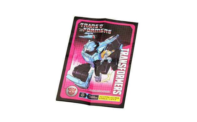 TRANSFORMERS SONICBLUE BUMBLE & EXO-SUIT CHAMA
