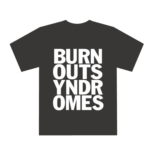 【BURNOUT SYNDROMES】LOGO Tシャツ(黒)