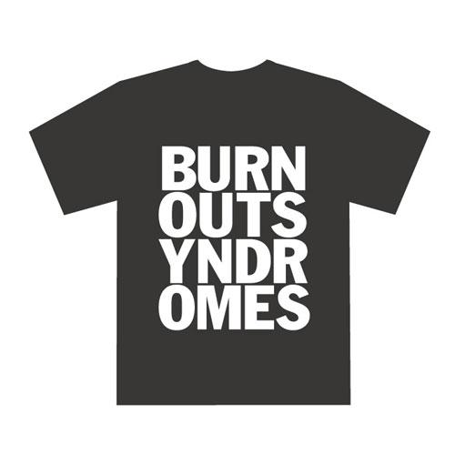 【BURNOUT SYNDROMES】LOGO Tシャツ(黒)