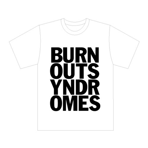 【BURNOUT SYNDROMES】LOGO Tシャツ(白)
