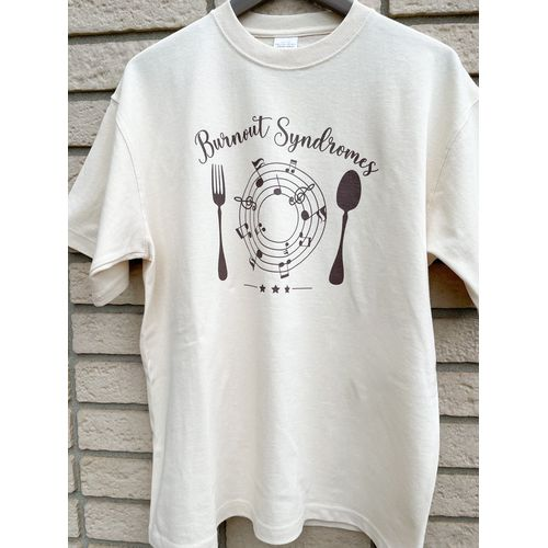 【BURNOUT SYNDROMES】注文の多い料理店―☆☆☆― ビッグシルエットTシャツ/ナチュラル