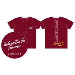 2018 Official T-shirts/burgundy