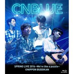 SPRING LIVE 2016~We're like a puzzle~@NIPPON BUDOKAN【BOICE盤Blu-ray】