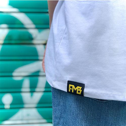 グランジ風メインT-shirt