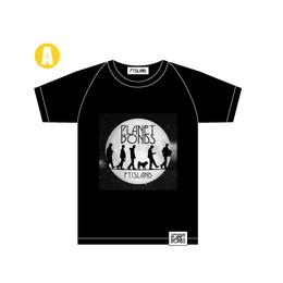 TシャツA(黒)【FTISLAND Arena Tour 2018 -PLANET BONDS-】