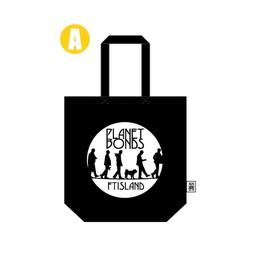 トートバッグA (黒)【FTISLAND Arena Tour 2018 -PLANET BONDS-】