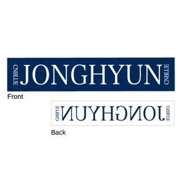 マフラータオル【LEE JONG HYUN Solo Concert in Japan】