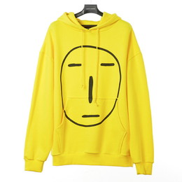 POKER FACE HOODIE SWEAT SHIRT(イエロー)【18FW SKULL HONG】