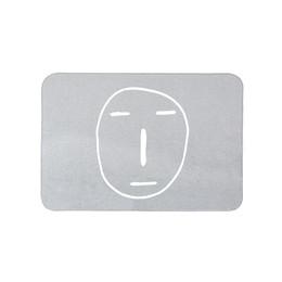 POKER FACE BLANKET(グレー)【18FW SKULL HONG】