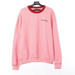 SKULL HONG NECK POINT SWEAT SHIRT(ピンク)【18FW SKULL HONG】
