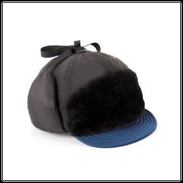 HONG PADDING WINTER HAT(ブラック)【18FW SKULL HONG】